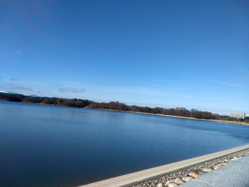多摩湖 右岸