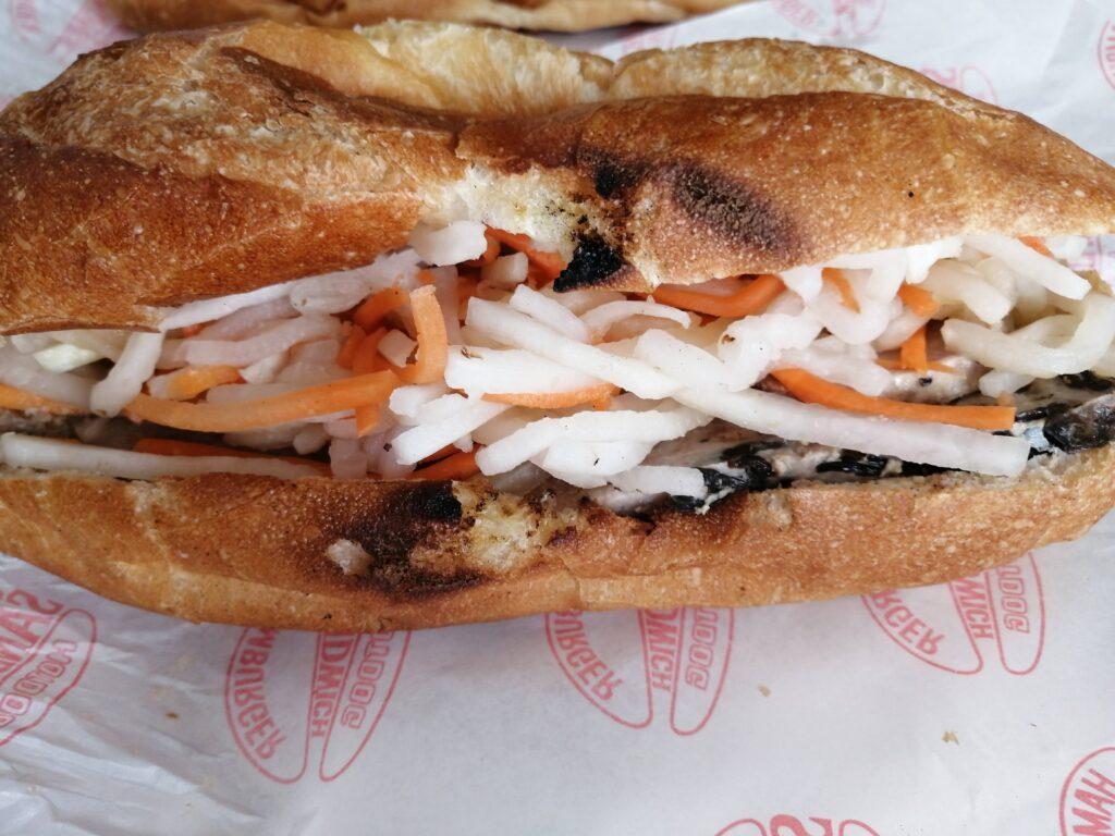 サンドイッチ  サイゴンハム&豚パテ(パクチーなし)