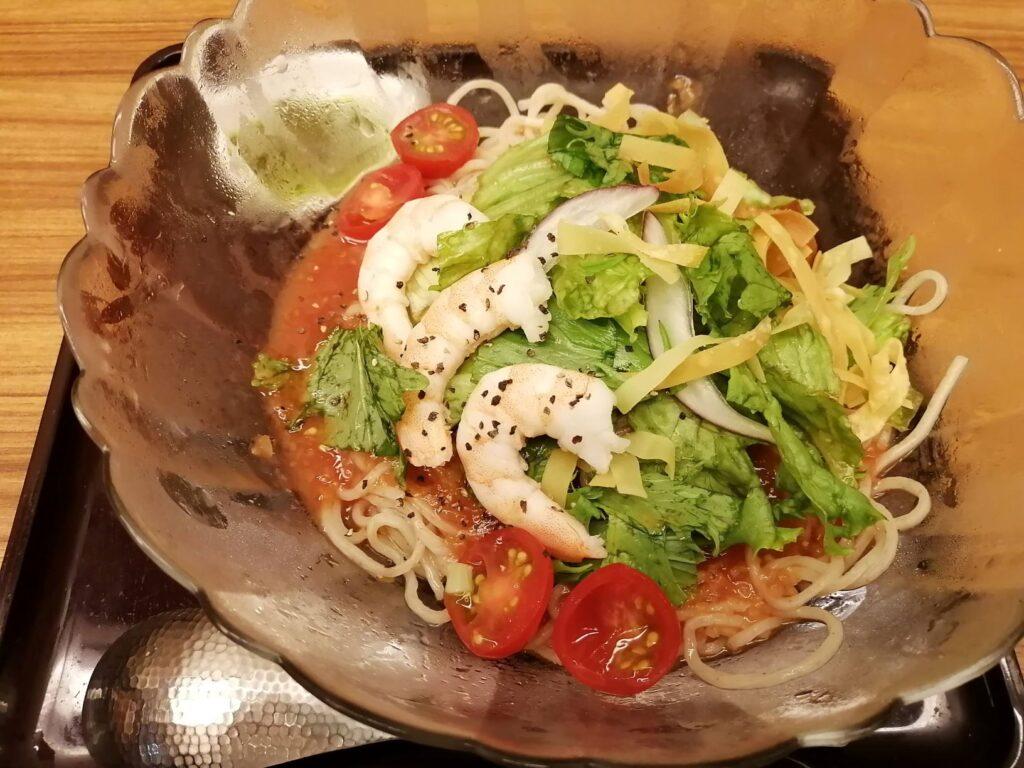 海老トマト冷麺