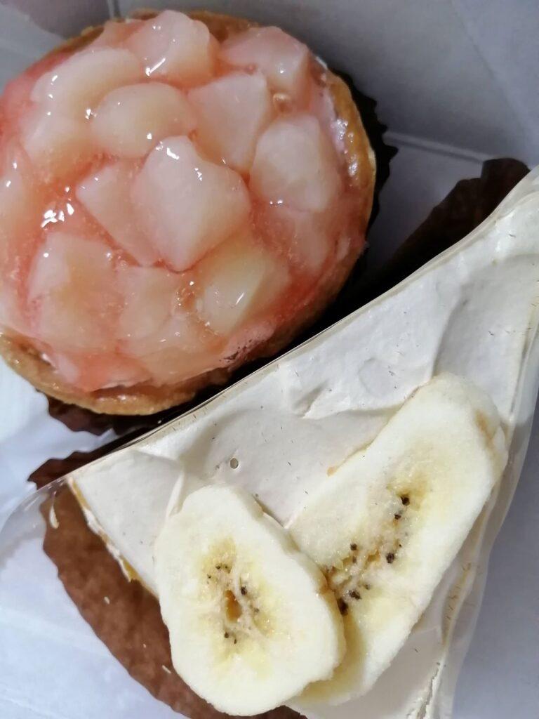 前月のケーキ